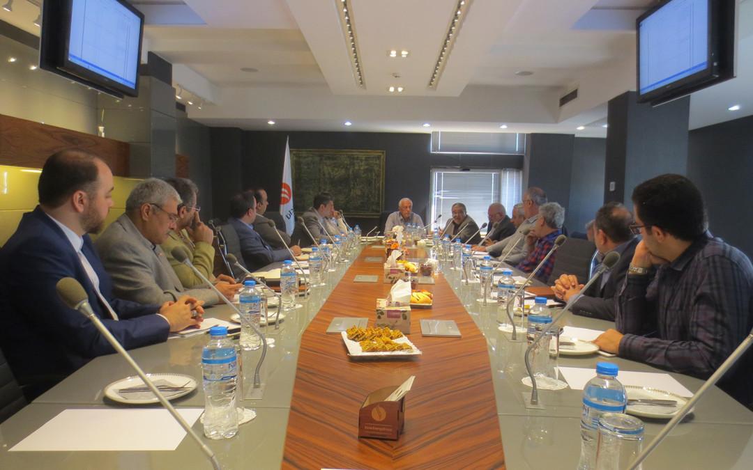 برگزاری سومین جلسه مدیران عامل شرکتهای عضو انجمن
