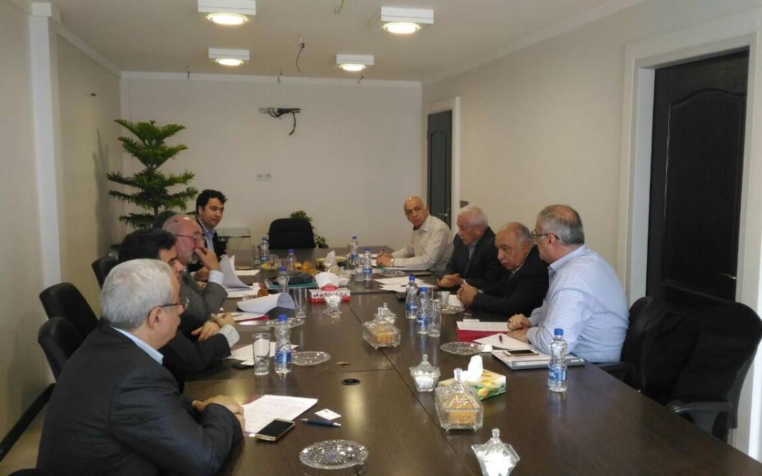 سی و دومین جلسه هیئت مدیره انجمن شرکتهای حفاری نفت و گاز ایران