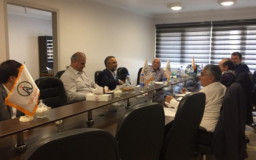 سی و چهارمین جلسه هیئت مدیره